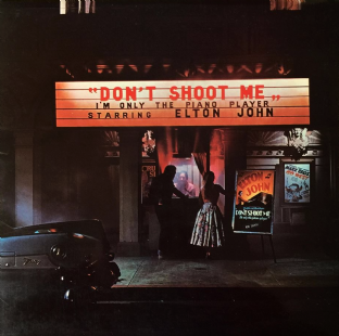 Elton John - Don't Shoot Me I'm Only The Piano Player (LP) (VG/VG)